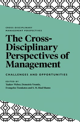 The Cross-Disciplinary Perspectives of Management  9781838672508