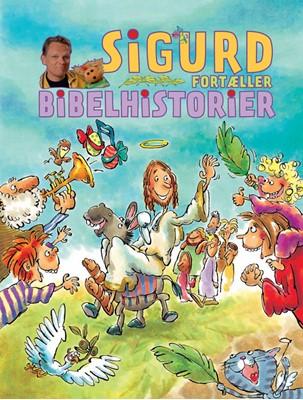 Sigurd fortæller bibelhistorier Sigurd Barrett 9788740039726