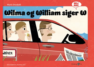 Wilma og William siger W Marie Duedahl 9788770186094