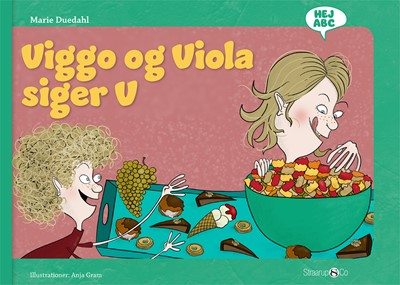 Viggo og Viola siger V Marie Duedahl 9788770186087
