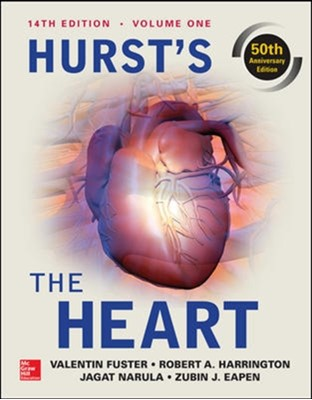 Hurst's the Heart, 14th Edition: Two Volume Set Valentin Fuster, Robert A. Harrington, Jagat Narula 9780071843249
