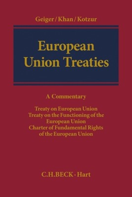 European Union Treaties  9781849463614