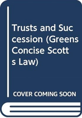 Successions and Trusts Alex Gibb 9780414018112
