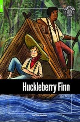 Huckleberry Finn - Foxton Reader Level-1 (400 Headwords A1/A2) with free online AUDIO Mark Twain 9781911481560