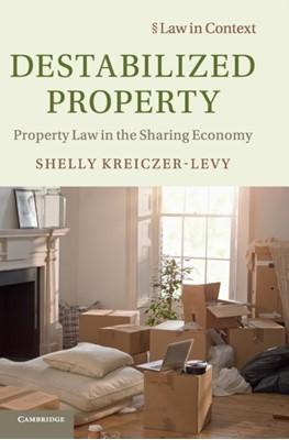Destabilized Property Shelly Kreiczer-Levy 9781108475273