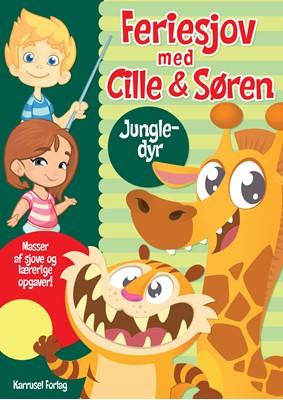 Feriesjov med Cille og Søren - Jungledyr - ingen forfatter - - ingen forfatter - 9788771314595