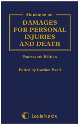 Munkman Damages For Personal Injuries and Death Gordon Exall 9781474312295