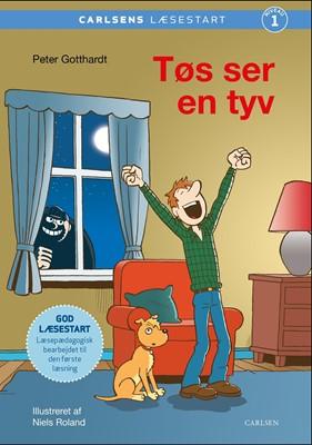 Carlsens læsestart - Tøs ser en tyv Peter Gotthardt 9788711983188