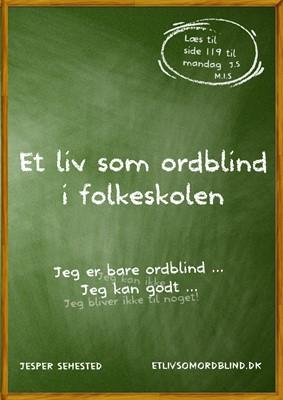 Et liv som ordblind i folkeskolen Jesper Sehested 9788799984176