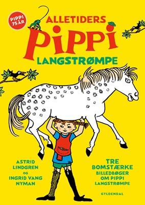 Alletiders Pippi Langstrømpe Astrid Lindgren 9788702294354