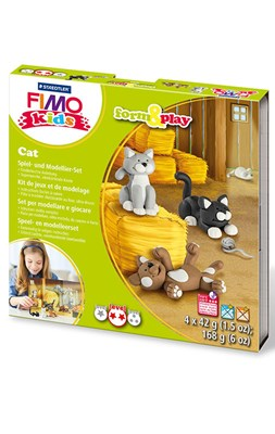 "FIMO kids sæt, ""Cat""  4007817032589"