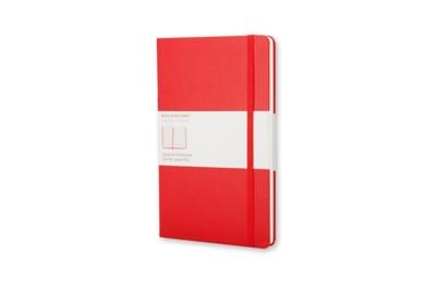 Moleskine Pocket Squared Hardcover Notebook Red Moleskine 9788862930291