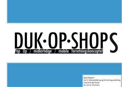 Duk Op Shops vol 3.1 Anine Thomsen 9788743036241