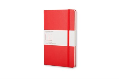 Moleskine Pocket Plain Hardcover Notebook Red Moleskine 9788862930024