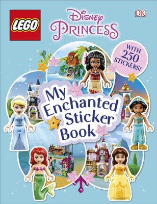 LEGO Disney Princess My Enchanted Sticker Book DK 9780241408889