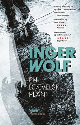 En djævelsk plan Inger Wolf 9788770364133