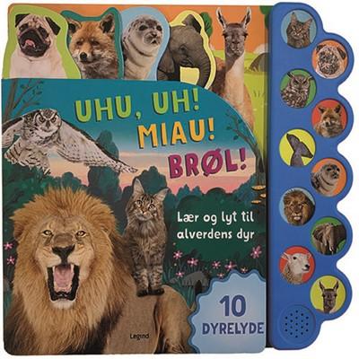 Lær og lyt til alverdens dyr  9788771557596