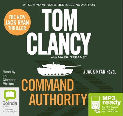 Command Authority Mark Greaney, Tom Clancy 9781486206599