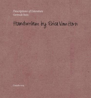 Descriptions of Literature  9780906630624