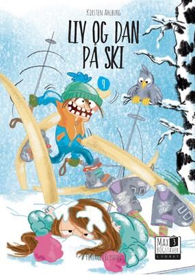 Liv og Dan på ski Kirsten Ahlburg 9788772146089