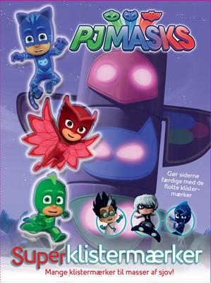 PJ Masks Superklistermærker - ingen forfatter - - ingen forfatter - 9788771314854