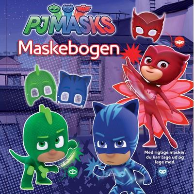 PJ MASKS Maskebogen  9788771314878