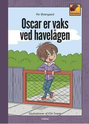 Oscar er vaks ved havelågen Per Østergaard 9788740660494