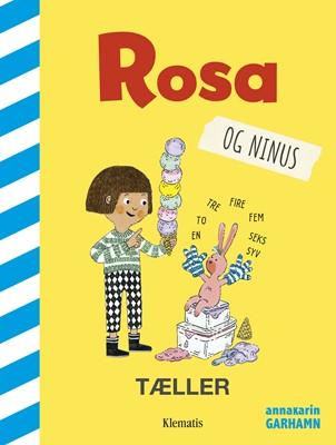Rosa og Ninus tæller Anna-Karin Garhamn 9788771394177