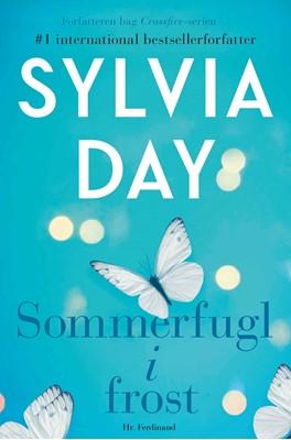 Sommerfugl i frost Sylvia Day 9788740060522