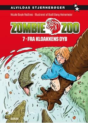 Zombie zoo 7: Fra kloakkens dyb Nicole Boyle Rødtnes 9788741510422