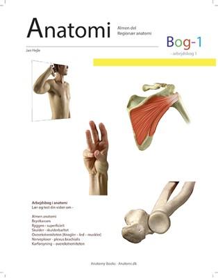 Anatomi - Bog 1 Jan Hejle 9788797081129