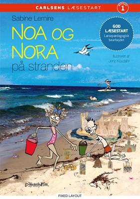 Carlsens læsestart - Noa og Nora på stranden Sabine Lemire 9788711919880