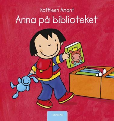 Anna på biblioteket Kathleen Amant 9788740661002