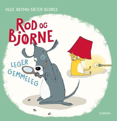 Rod og Bjørne leger gemmeleg Hege Østmo-Sæter Olsnes 9788740661330