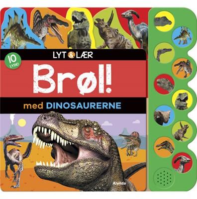 Lyt og lær - Brøl med dinosaurerne  9788741509853