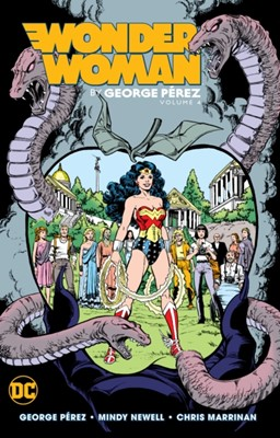 Wonder Woman by George Perez Volume 4 George Perez 9781401291266