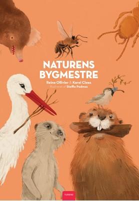 Naturens bygmestre Reina Ollivier, Karel Claes 9788740659856