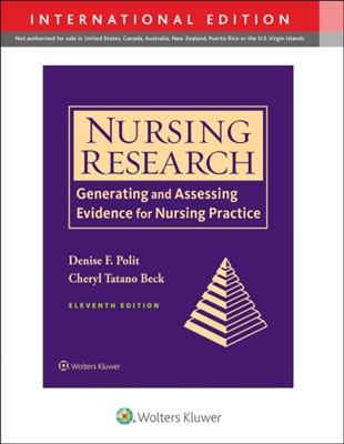 Nursing Research Denise Polit, Cheryl Beck 9781975154141