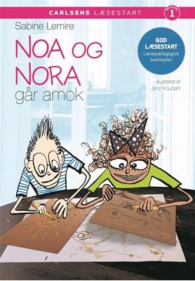 Carlsens læsestart - Noa og Nora går amok Sabine Lemire 9788711916193