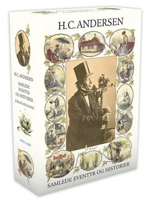 Samlede eventyr og historier Blå H.C. Andersen 9788763848480