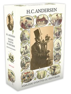 Samlede eventyr og historier Rød H.C. Andersen 9788763848497