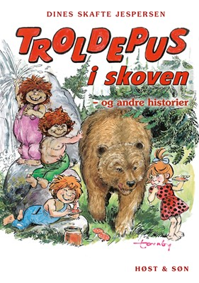 Troldepus i skoven - og andre historier Dines Skafte Jespersen 9788763859202