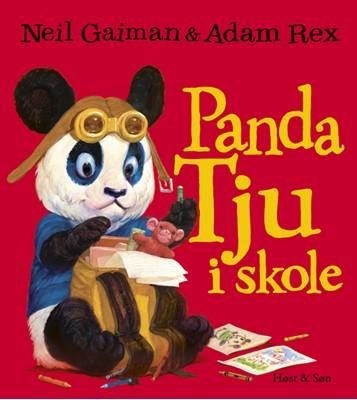 Panda Tju i skole Neil Gaiman 9788763864657