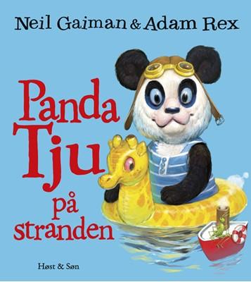 Panda Tju på stranden Neil Gaiman 9788763864664