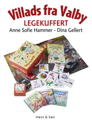 Villads fra Valby - legekuffert Dina Gellert, Anne Sofie Hammer 9788763851800