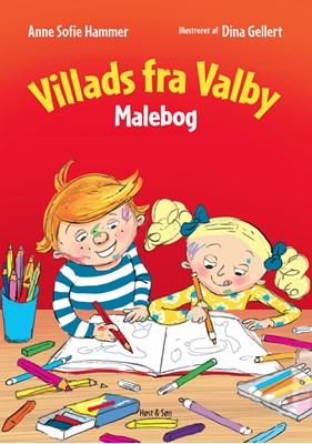 Villads fra Valby Malebog Anne Sofie Hammer 9788763857666