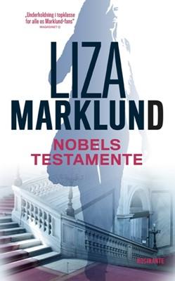 Nobels testamente, pb Liza Marklund 9788763842143