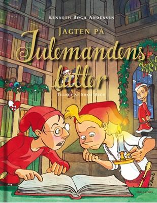 Jagten på julemandens latter Kenneth Bøgh Andersen 9788763858069