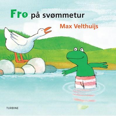 Frø på svømmetur Max Velthuijs 9788740661699