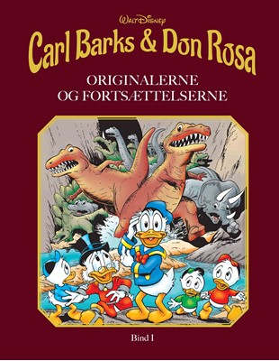 Carl Barks & Don Rosa Walt Disney 9788793840195